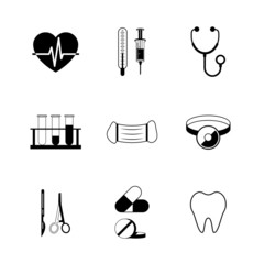 Medical pictogram collection