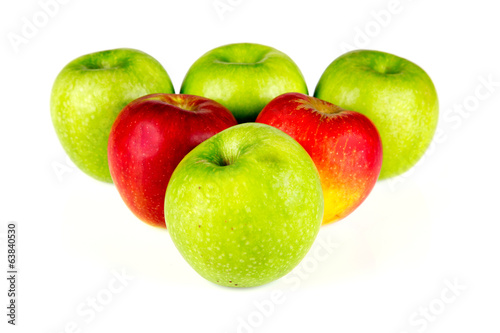 Red and Green Apples - 07