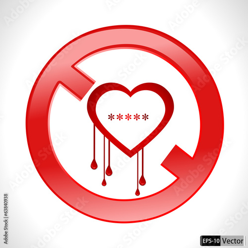 heart bleed openssl bug virus bleeding heart restricted
