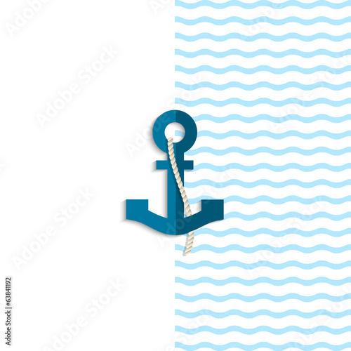 Anchor from paper