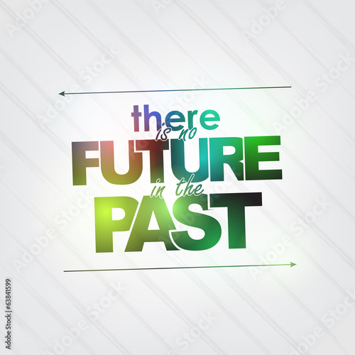 No future in the past