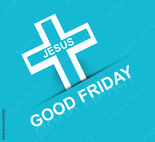 Good Friday Religious and elegant background colorful vector des
