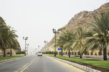 Oman Muscat. The Road Al Bahri