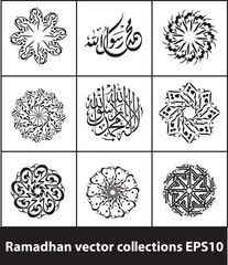 Ramadhan vector collections 02