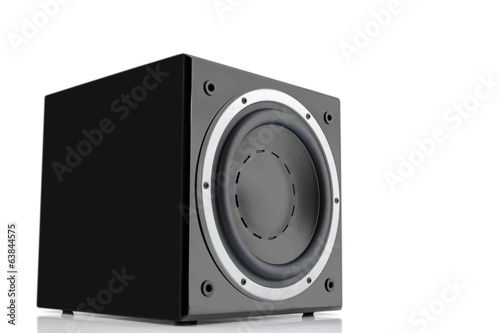 Black high gloss subwoofer