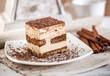Tiramisu dessert cake.