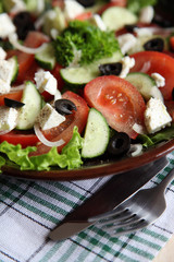 Salad Stills: Greek