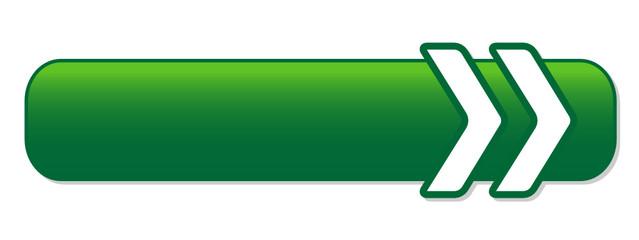 BLANK green web button (icon symbol template click here)