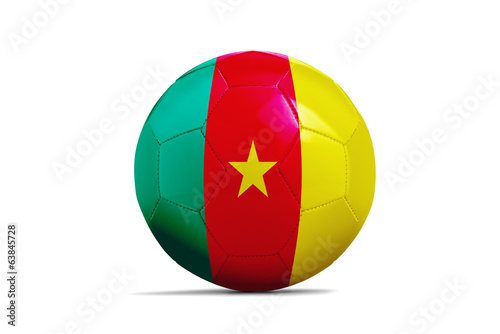 Soccer balls with teams flags, Football Brazil 2014. Group A, Ca