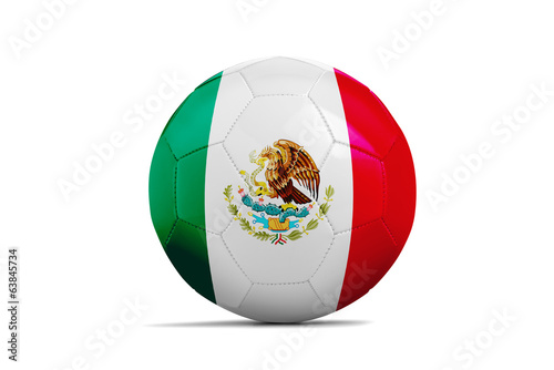 Soccer balls with teams flags, Football Brazil 2014. Group A, Me