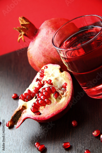 Fresh ripe pomegranate