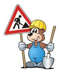 Bear Construction Area