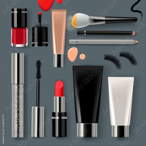 Makeup set collection