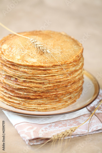 Blini - russian crepes