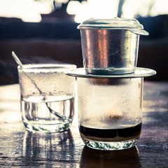 Vietnamese drip coffee