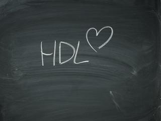 Herz HDL Tafel Kreide