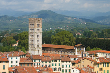 Campanile of San Frediano in Lucca