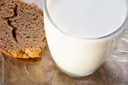 Bread, milk