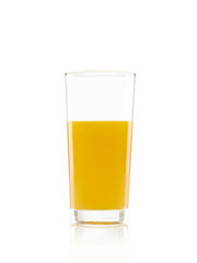Glas Orangensaft