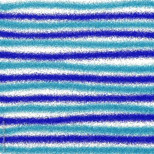 Blue Glitter Stripes