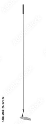 realistic 3d render of golf pole