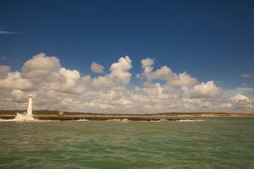 Faro di Baia da Traiçao, Paraiba,Brasile