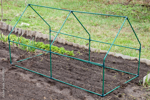 Frame mini greenhouse