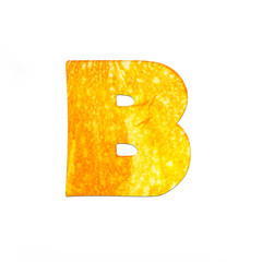 fruits and vegetables - letter B