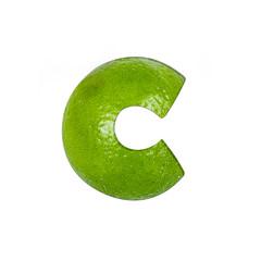 fruits and vegetables - letter C