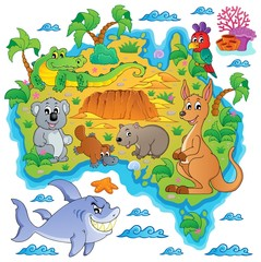 Australian map theme image 3