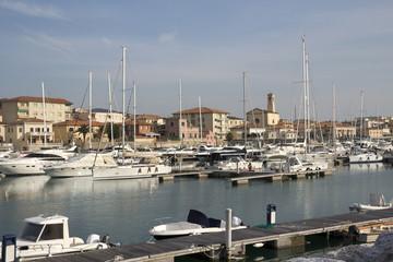 San Vincenzo harbor - Livorno, Tuscany