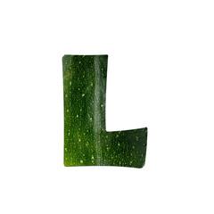 fruits and vegetables - letter L