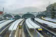 Paddington Station. Trains awaiting departure. - 63856522