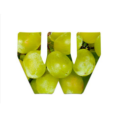 fruits and vegetables - letter W