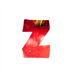 fruits and vegetables - letter Z