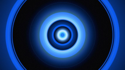 Light Circles Blue