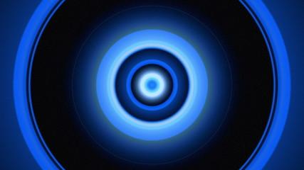 Light Circles Blue