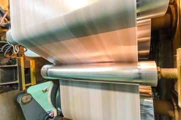 Print machine offset