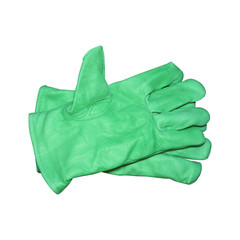 Safety gloves isolated