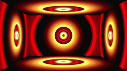 Light Circles Box red