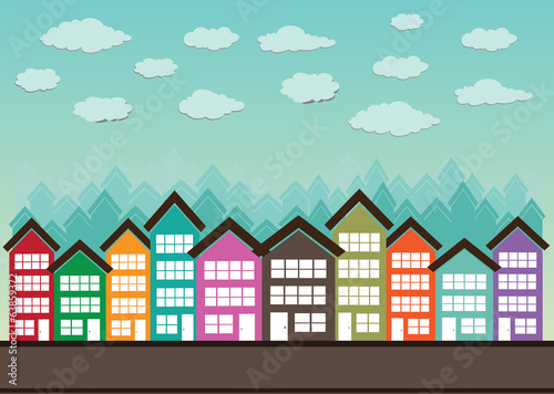 Little Town Townhouses  and home design