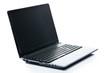 Technology. Laptop on a white background