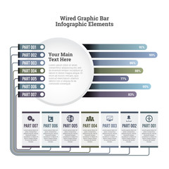 Wired Graphic Bar Infographic Elements