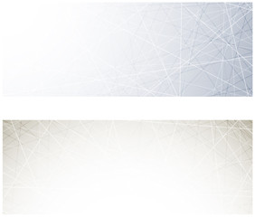 Grey technology banners.