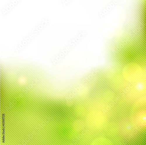 Summer blurred background.