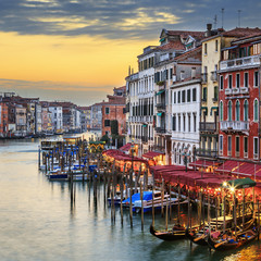 Famous view of Grand Canal