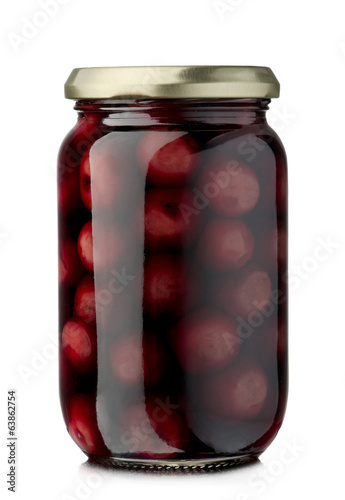 Cherries compote