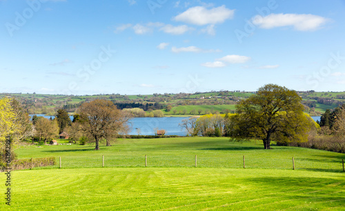 Blagdon Reservoir Somerset England UK near Bristol