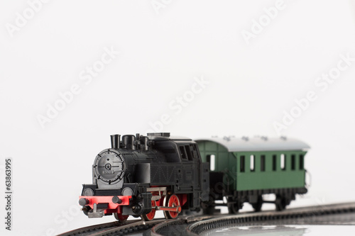 toy black steam locomotive