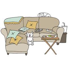 Living Room Pets